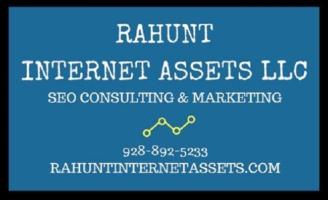 rahunt internet assets website design internet marketing